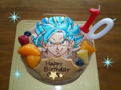 満足!ドラゴンボールのデコレーションケーキ!!